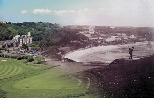 The Old and the New at Langland Bay Golf Club